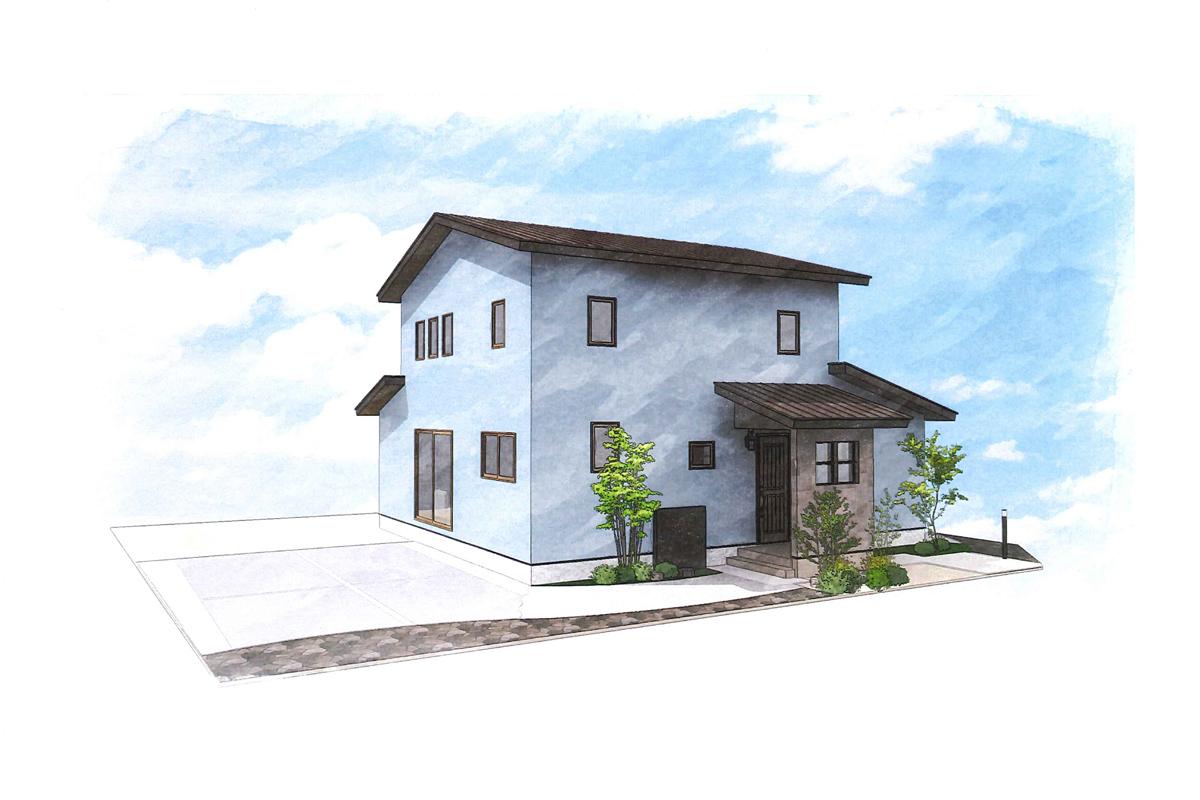 「夢」をかたる家 完成イメージ